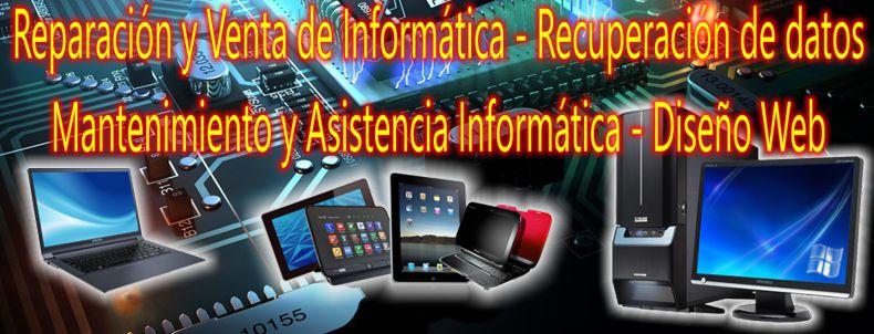 tienda informatica servicio técnico reparacion ordenadores portatiles tablet recuperacion datos oviedo gijon aviles asturias