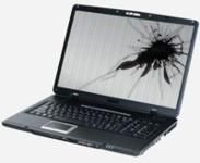 Reparación de pantallas rotas de portátiles y tablet
