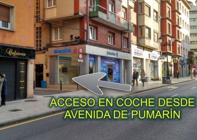 ACCESO AVDA PUMARIN